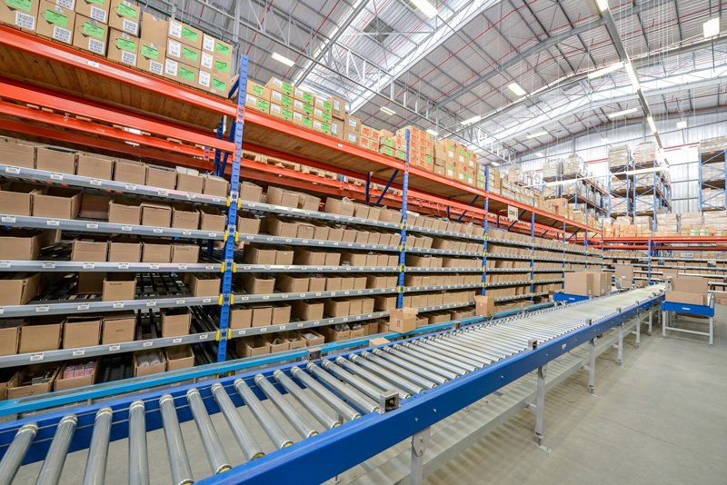 African Sales Company Warehouse Conveyor